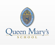 Queen Mary's School emblem