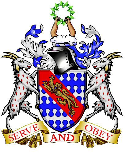 The Haberdashers' Aske's Boys' School emblem