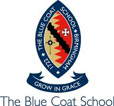The Blue Coat School emblem