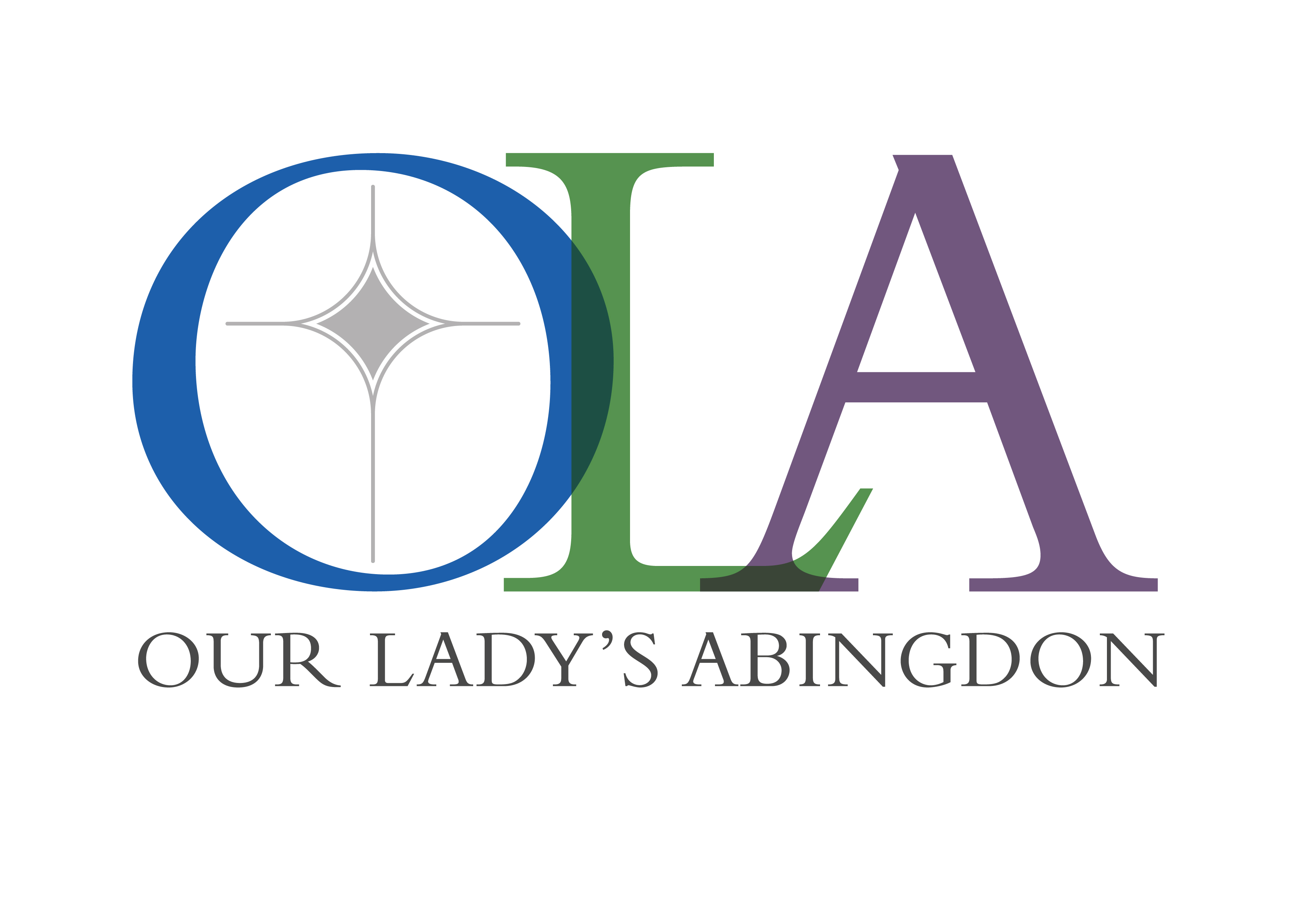 Our Lady's Abingdon emblem