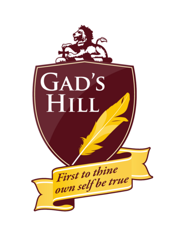 Gad's Hill School emblem