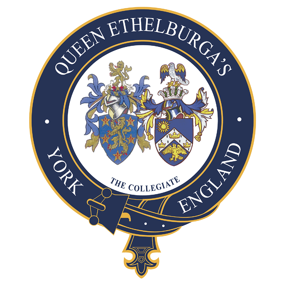 Queen Ethelburga's Collegiate emblem